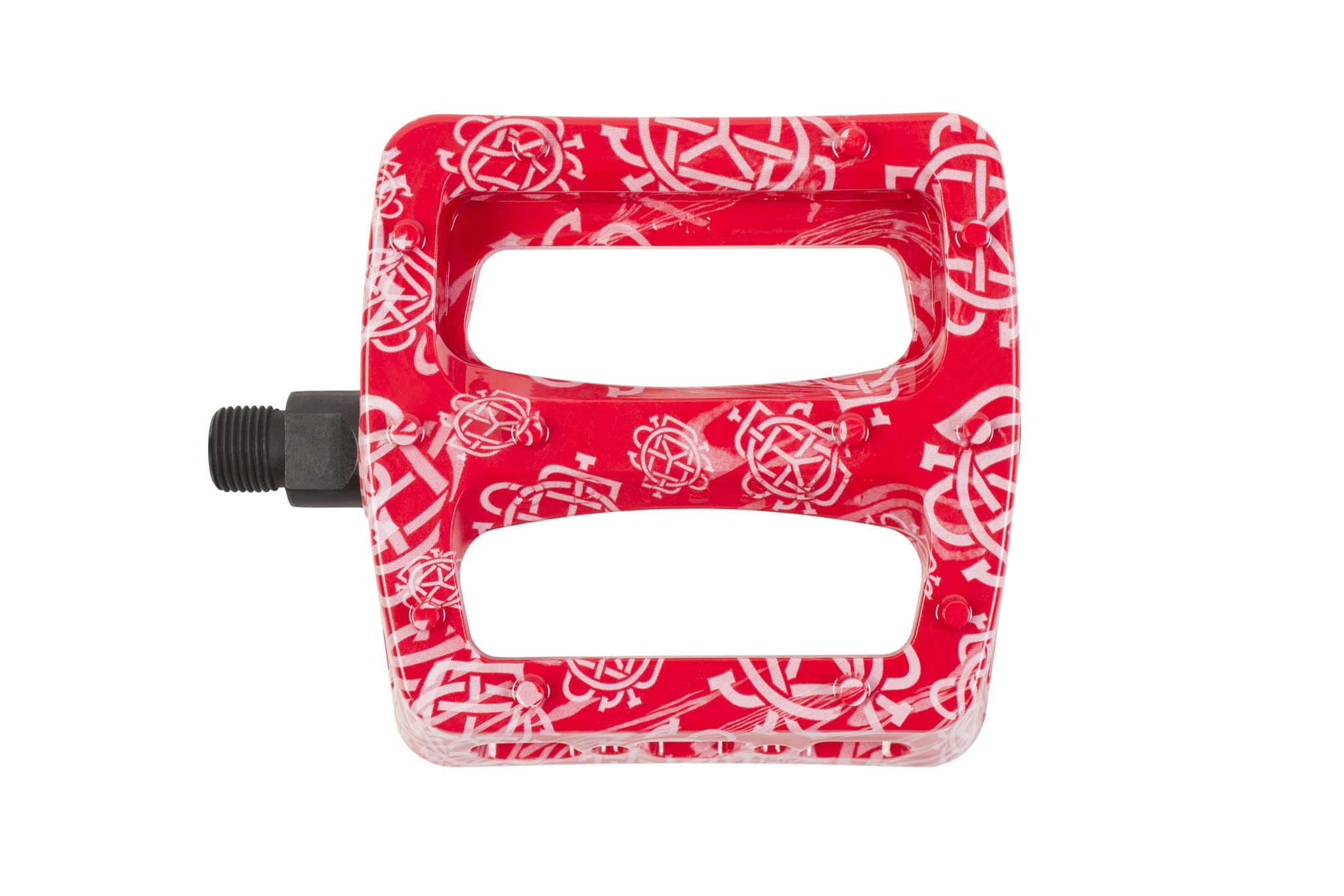 Odyssey Twisted Pro Pedali   Colore Monogram Pattern Red