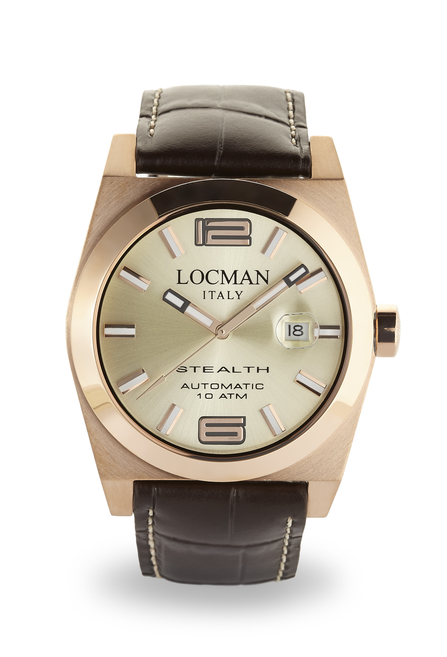 Locman Stealth Automatico Rosato