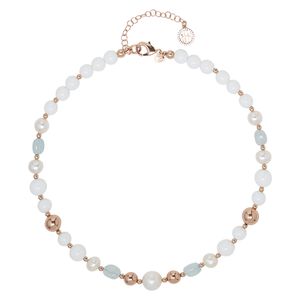 Boccadamo-Collana da donna con perle naturali
