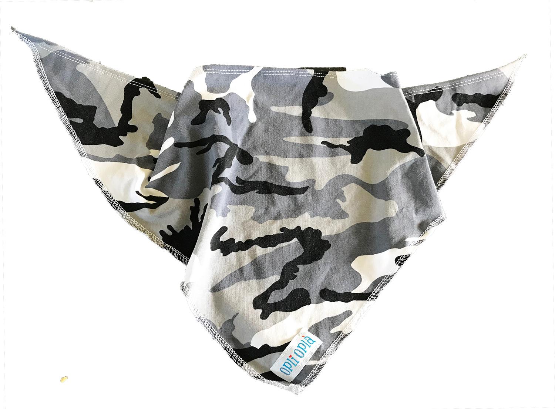 Militare grigio - bandana estiva a triangolo