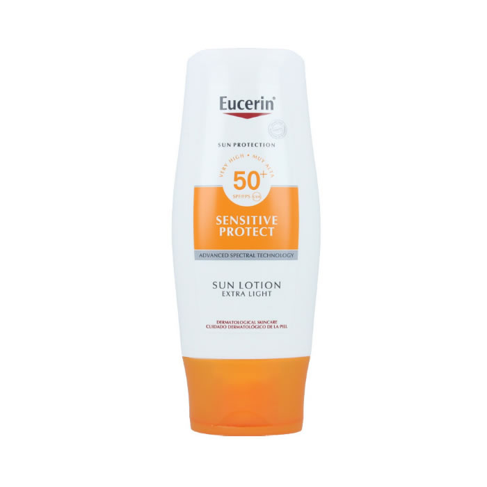 Eucerin Sensitive Protect Sun Lotion Extra Light SPF50+ 150ml