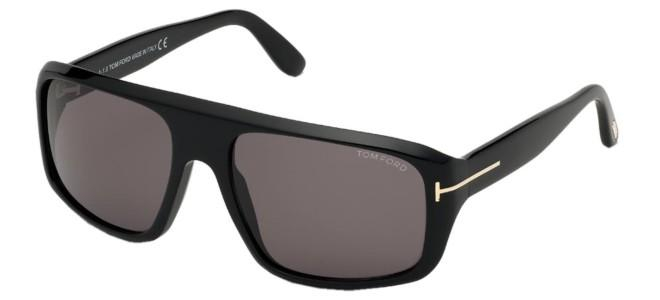 Tom Ford - Occhiale da Sole Unisex, DUKE, Black/Smoke Grey Shaded FT0754  01A  C59