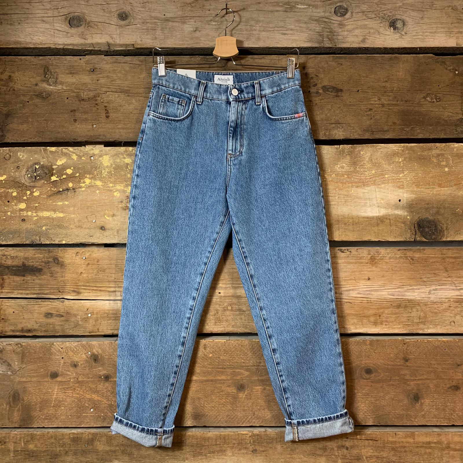 Jeans Amish Supply Donna Lizzie Adon Blu Chiaro