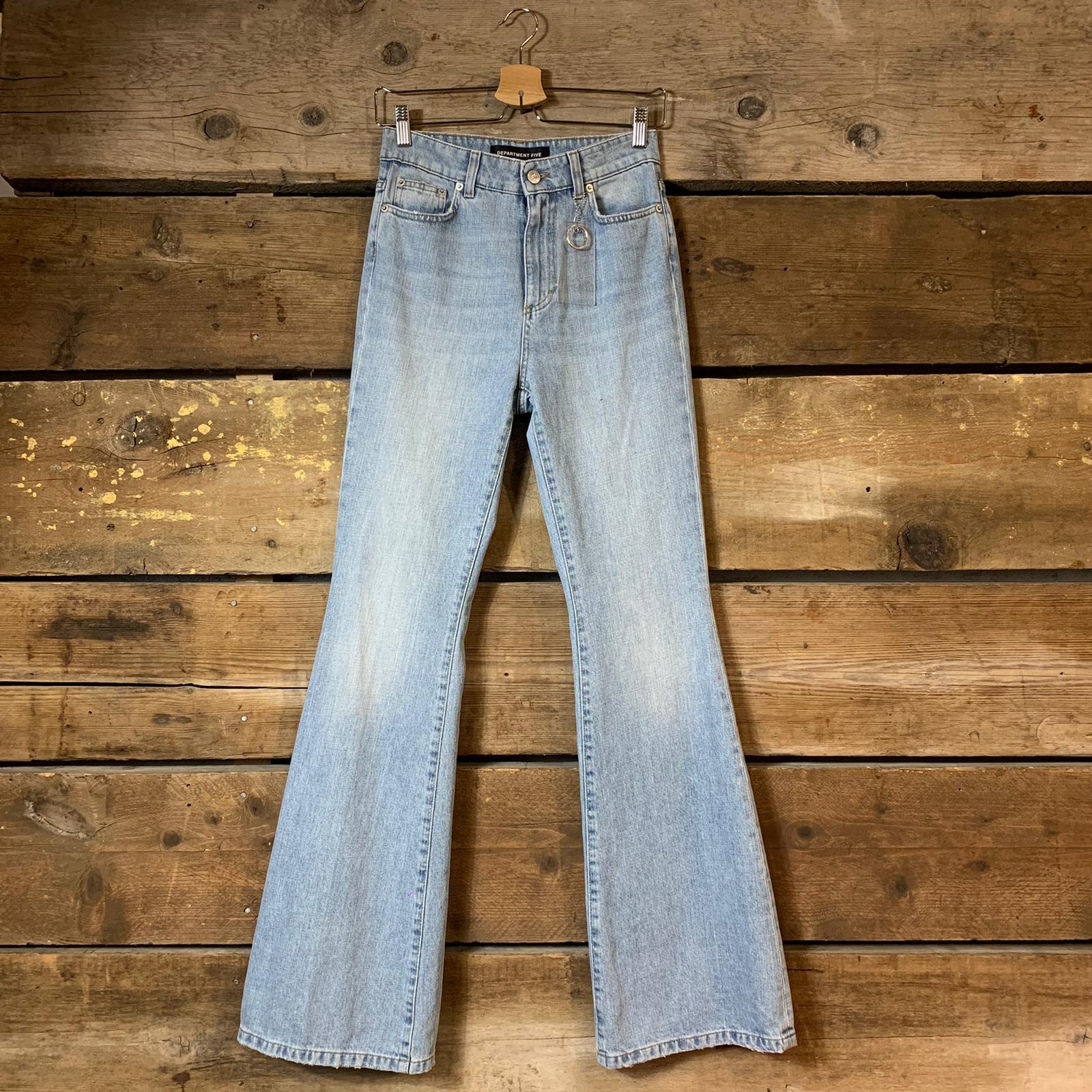 Jeans Department 5 Lion a Zampa Azzurro Chiaro