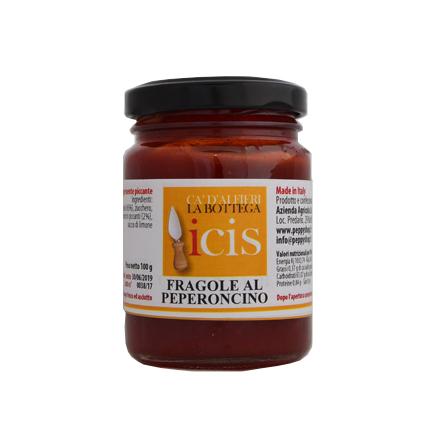 Composta per formaggi fragole al peperoncino