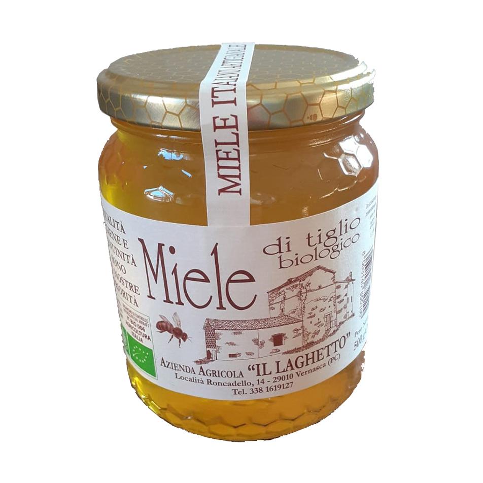 Miele biologico di tiglio