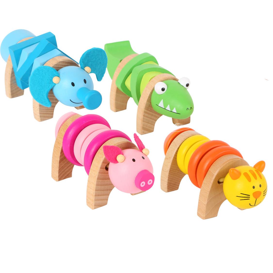 Animali in legno da avvitare