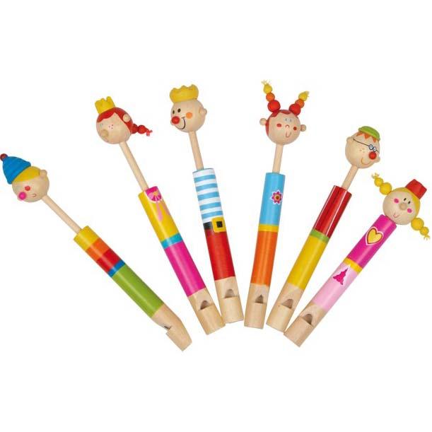 Flauti in legno personaggi