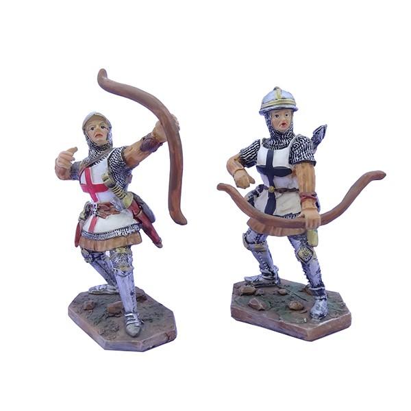 Cavalieri templari medievali balestrieri h10.5