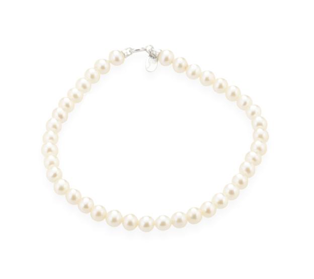 TRAMONTANO - Bracciale Perle vere dia. 8,5/9 mm