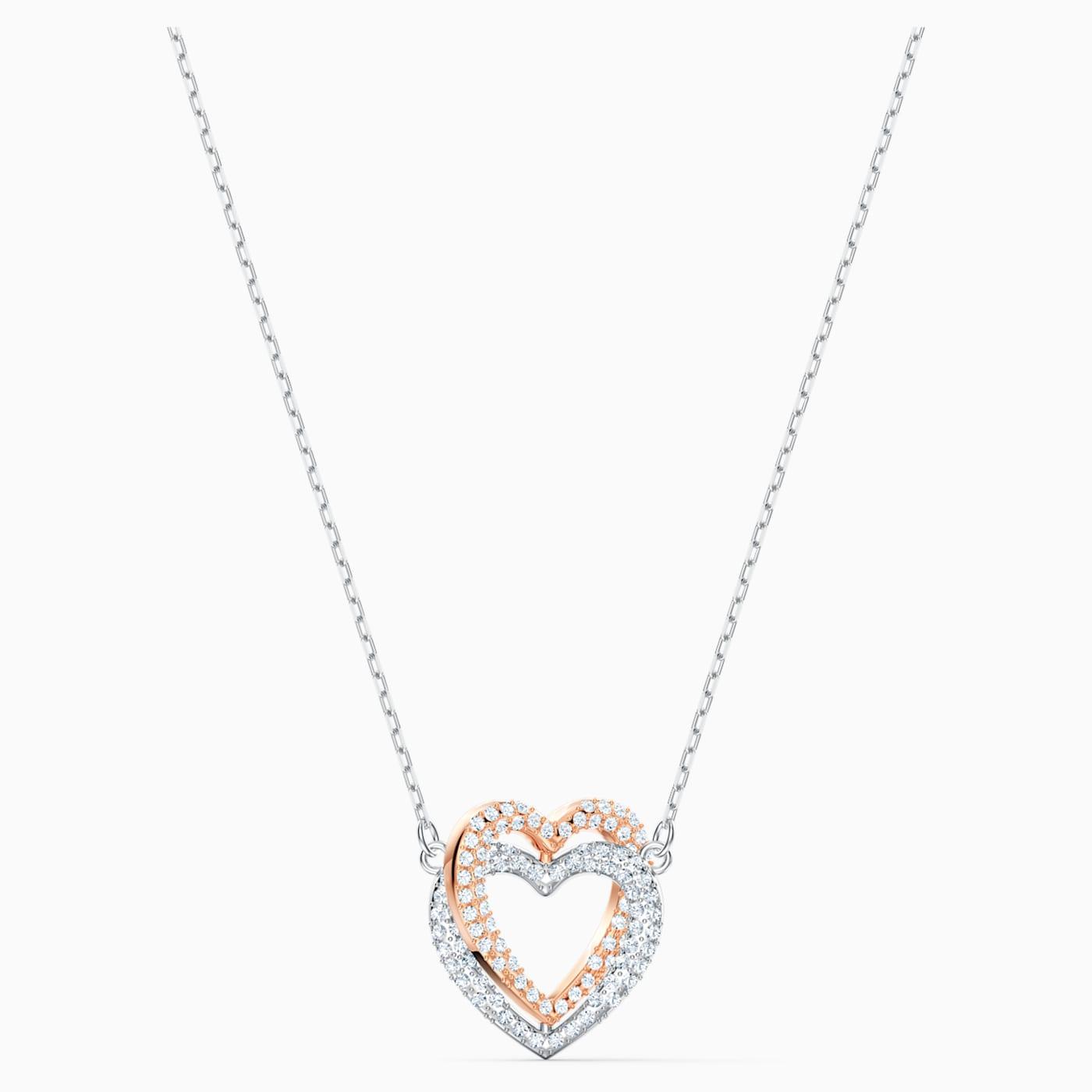 Swarovski Pendente Infinity Double Heart 5518868