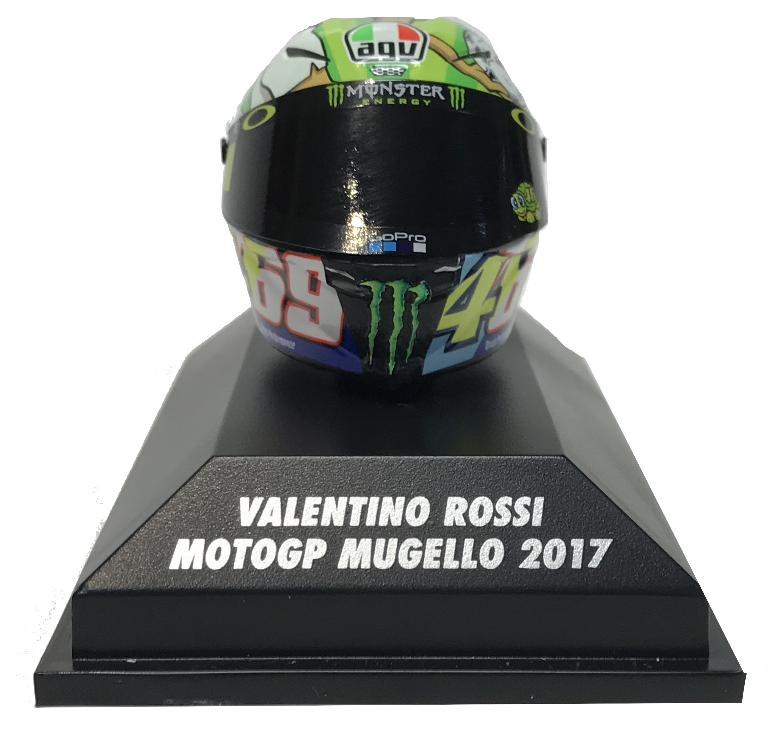 Valentino Rossi  Moto GP Mugello 2017 Helmet 1/8