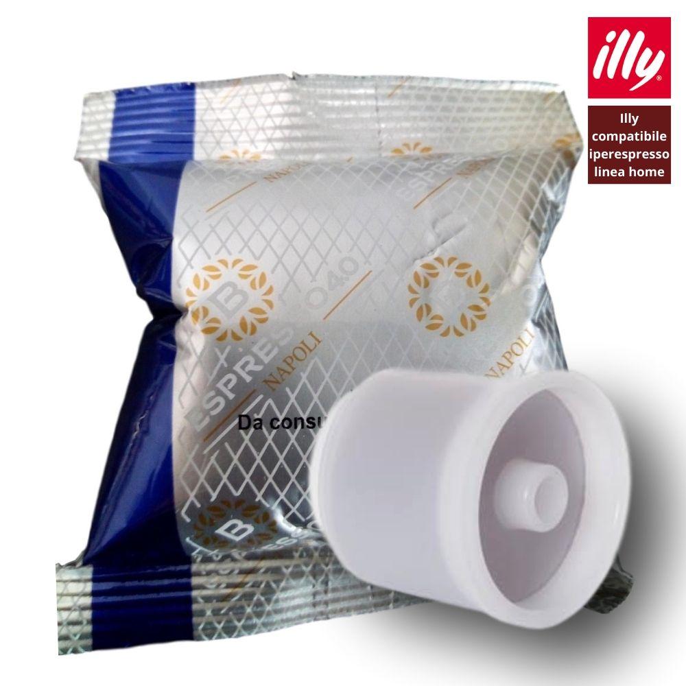 80 capsule caffè compatibili Illy Iperespresso Barbaro 4.0 miscela Blu