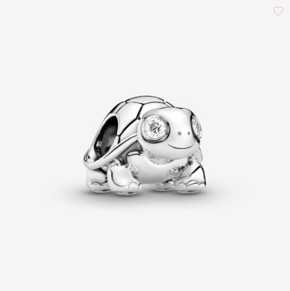 Charm Tartaruga luccicante