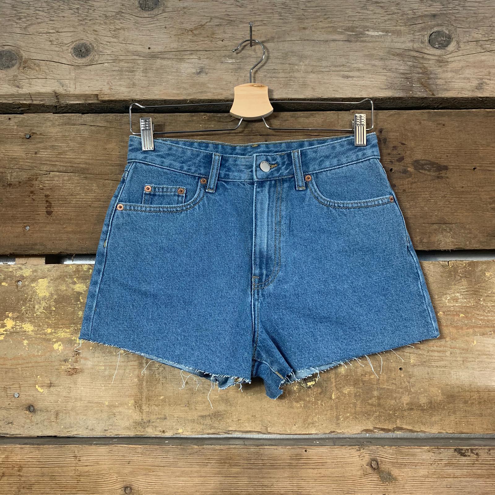 Pantaloncino Dr.Denim in Jeans Blu Chiaro