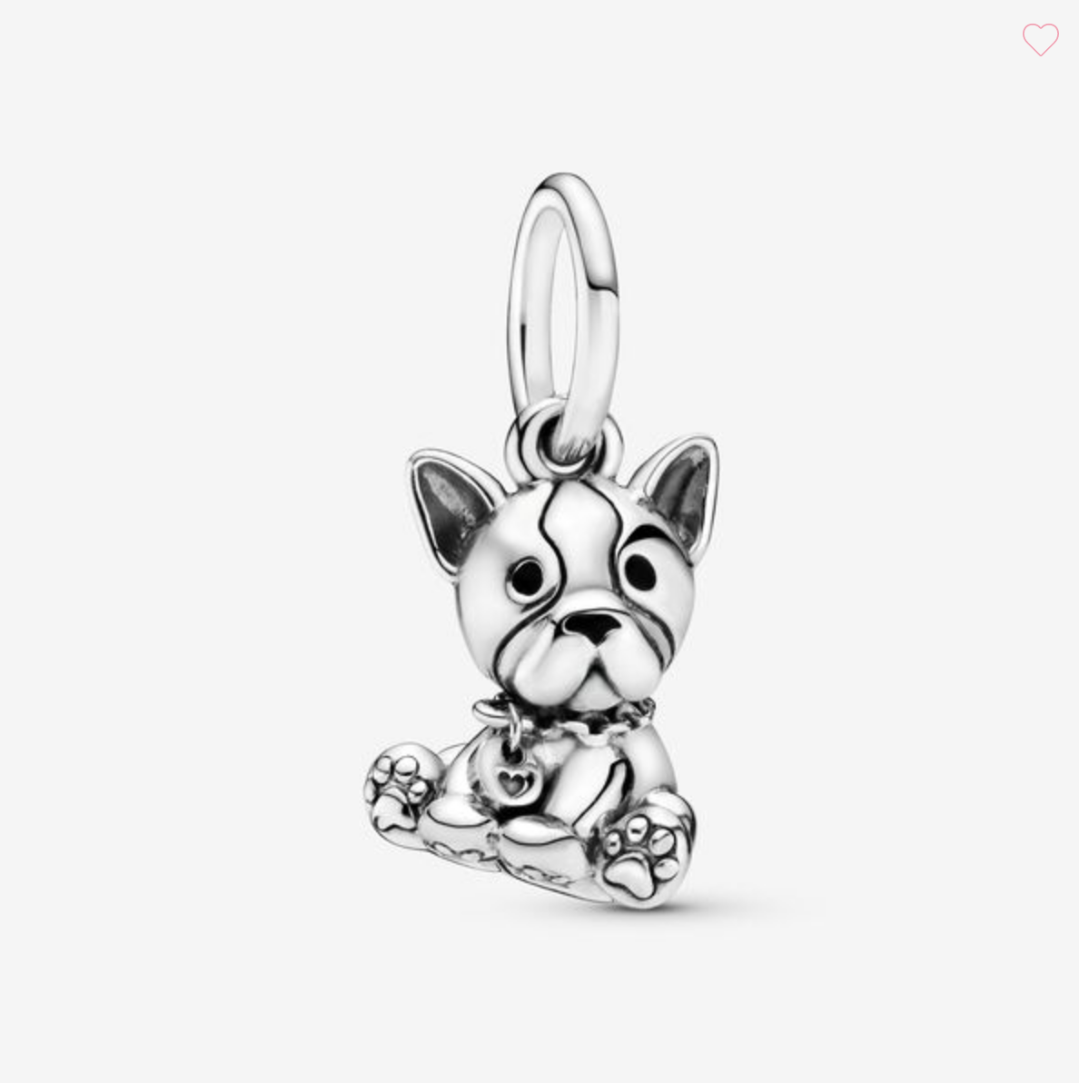 Charm pendente Cucciolo di Bulldog