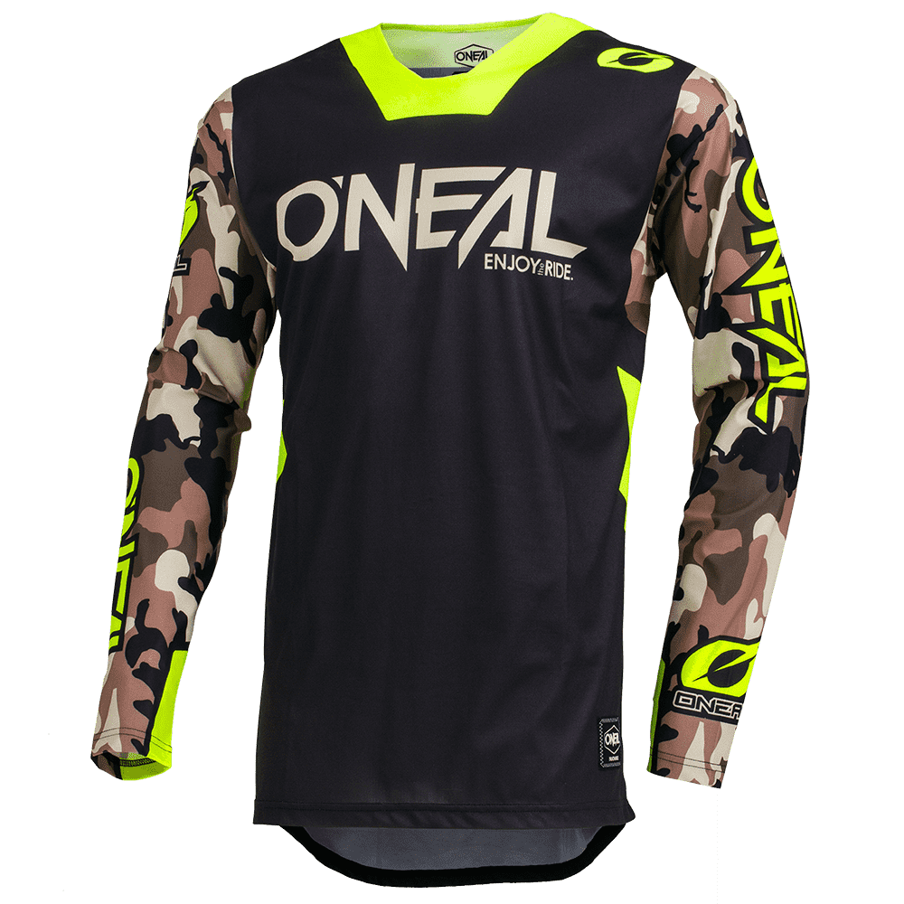 ONEAL MAYHEM LITE JERSEY AMBUSH NEON YELLOW