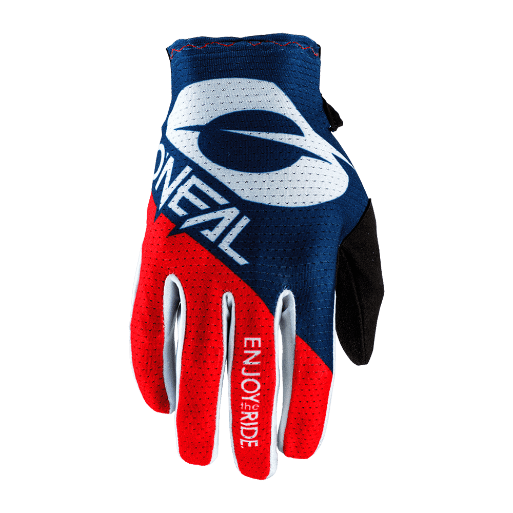 ONEAL MATRIX GLOVE STACKED red/blue