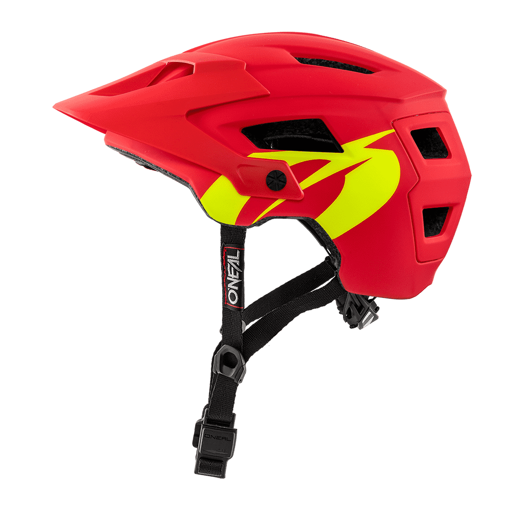 O`NEAL DEFENDER HELMET SOLID red