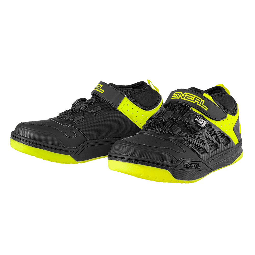 ONEAL SESSION SPD SHOE BLACK YELLOW