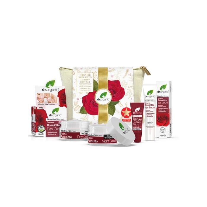 Dr. Organic Rose Otto Luxury Gift Set 2020
