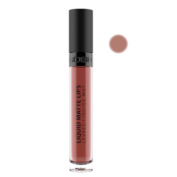Gosh Liquid Matte Lips 007 Nougat Crisp 4ml