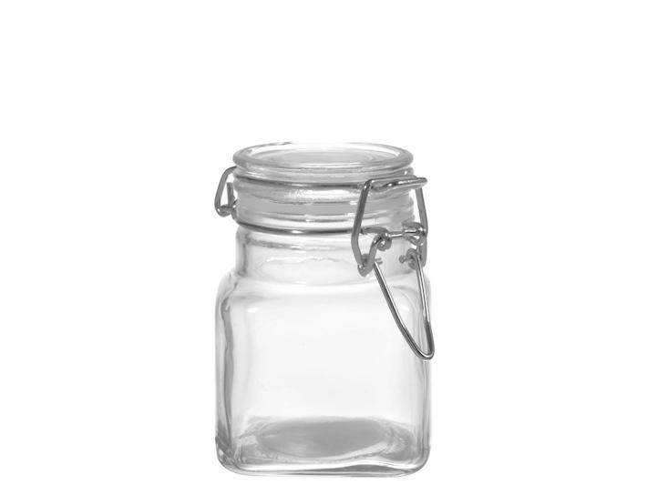 Mini barattolino in vetro per spezie e confetti bomboniera