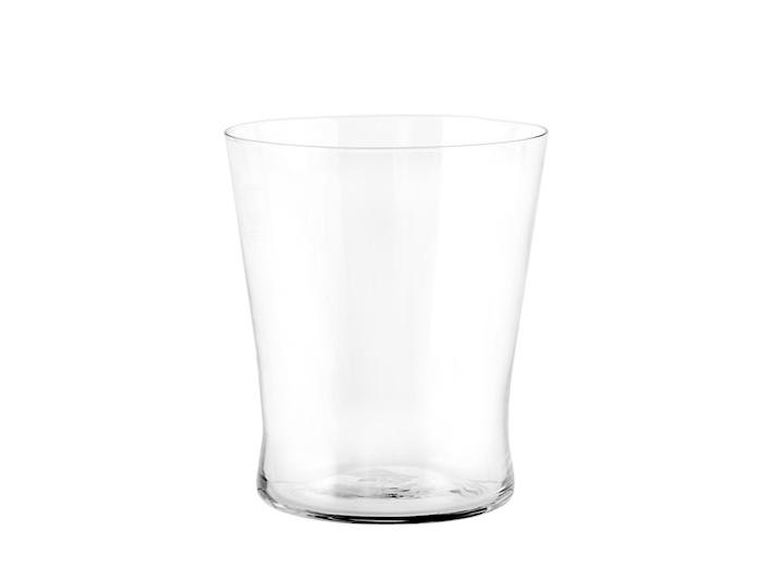 Bicchiere in vetro trasparente conico 25cl