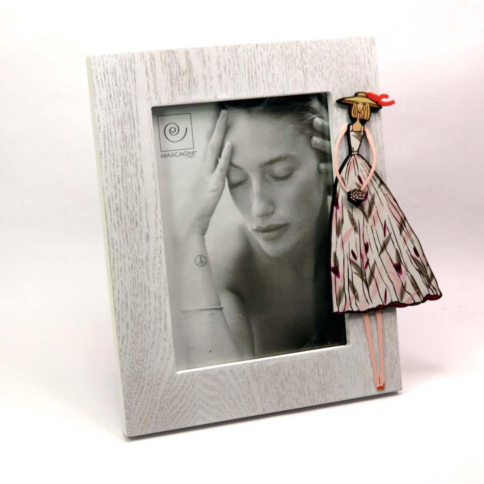 Porta foto cornice in legno Glamour 13x18