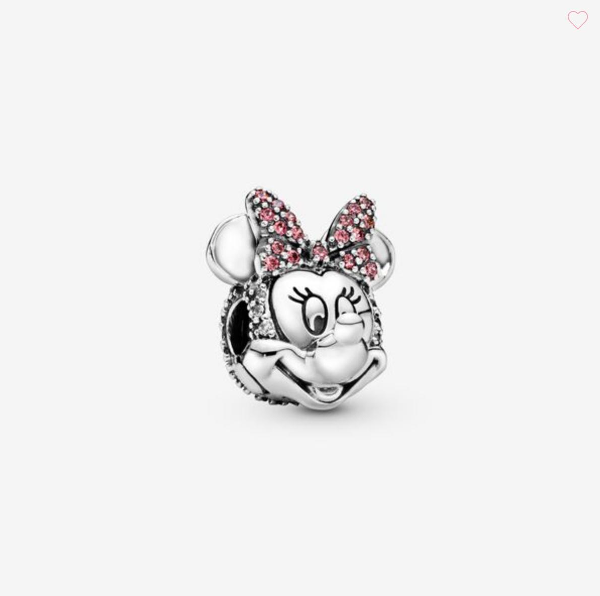 Disney, Clip Minnie con fiocco rosa e pavè