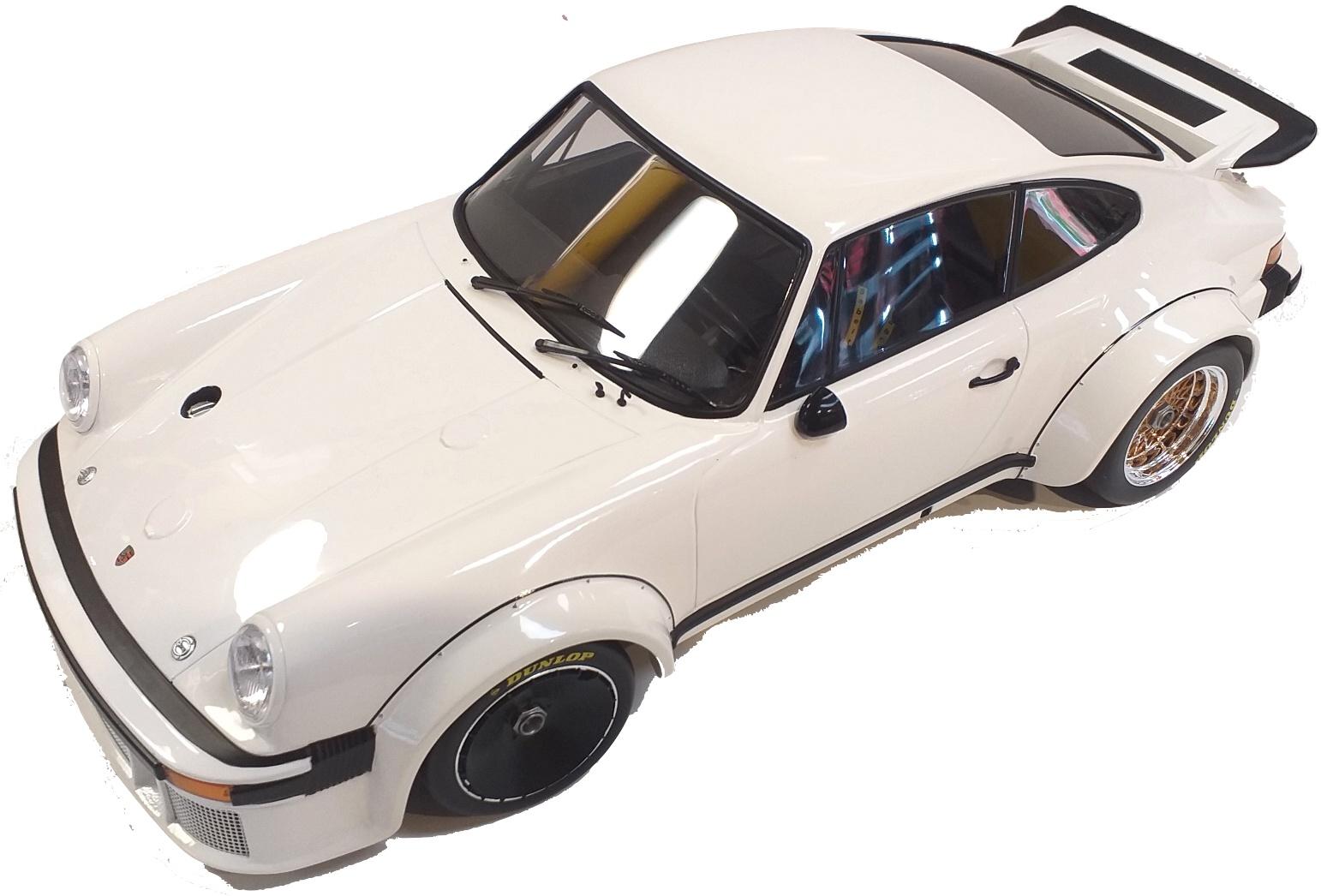 Porsche 934 White 1976 1/12