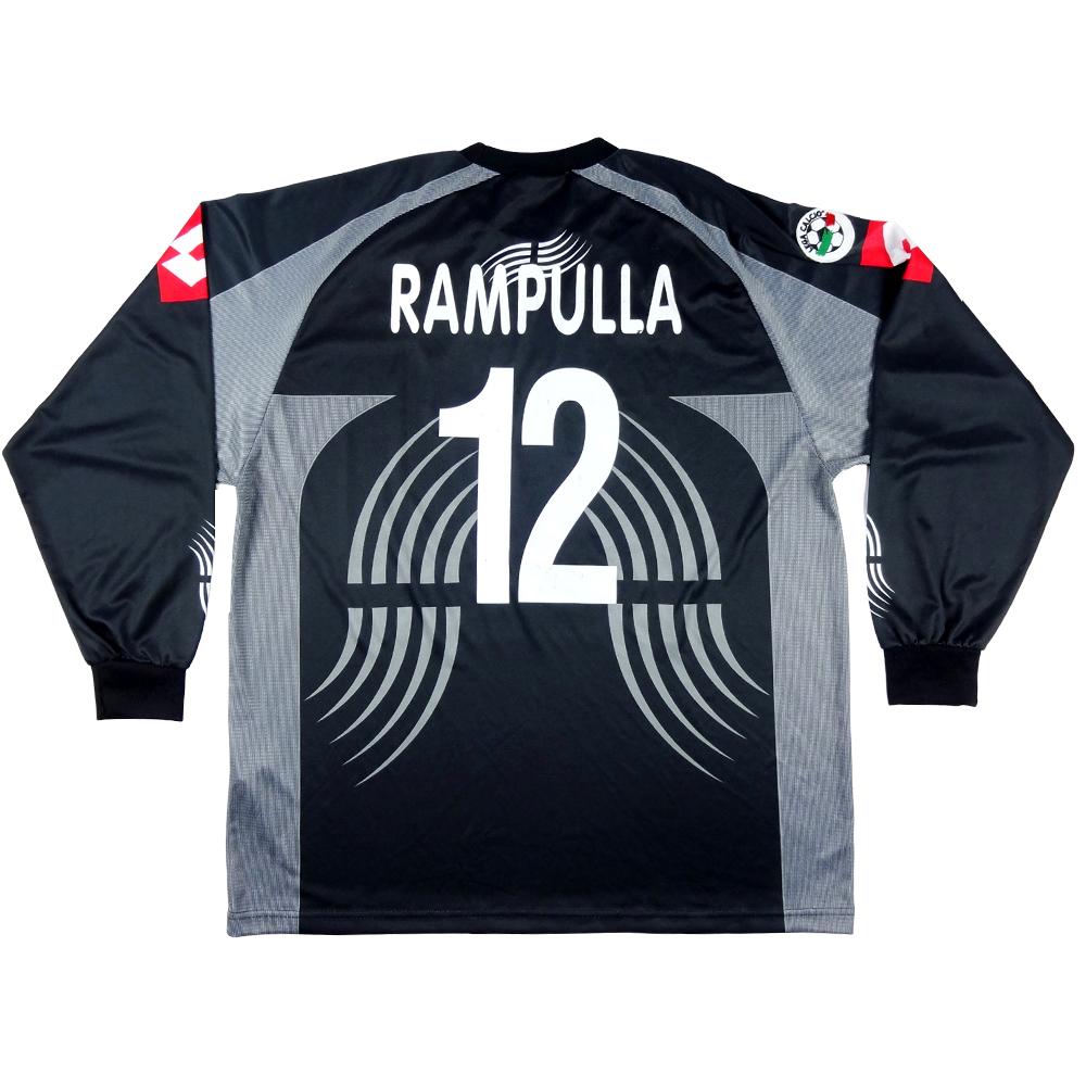 2001-02 Juventus Maglia Match Worn/issue Portiere #12 Rampulla XL (Top)