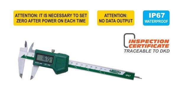 Calibro digitale waterproof IP67 1118