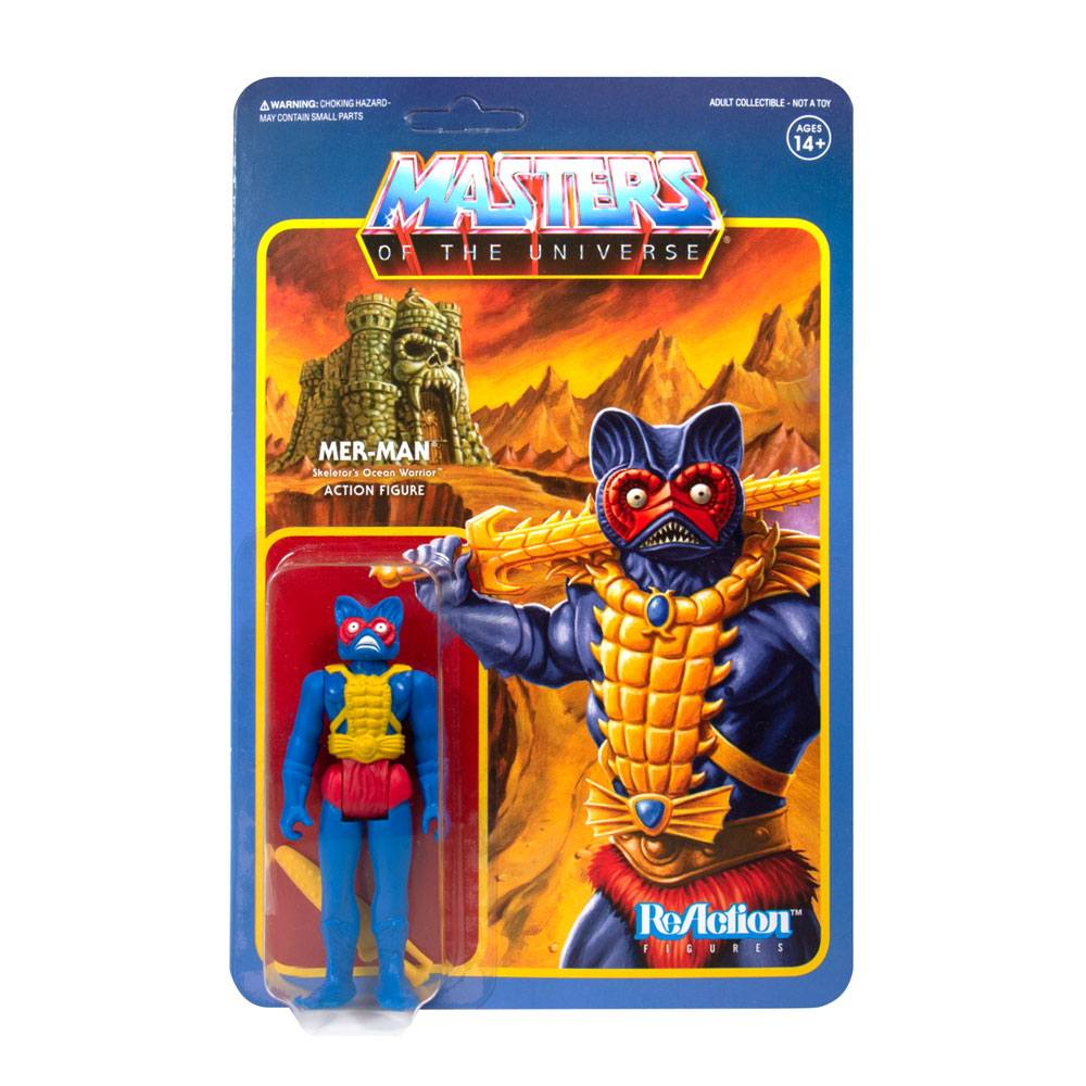 Masters of the Universe ReAction: Variable Variants - MER-MAN