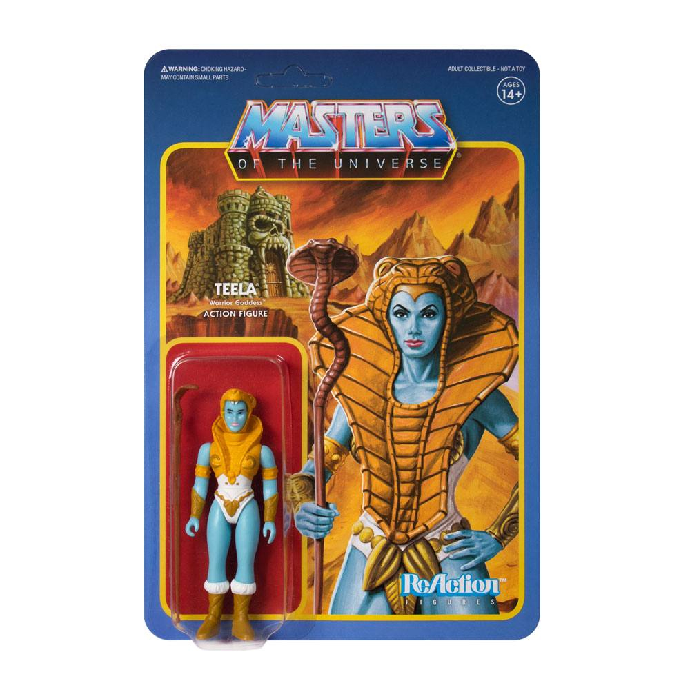 Masters of the Universe ReAction: Variable Variants - TEELA Goddess