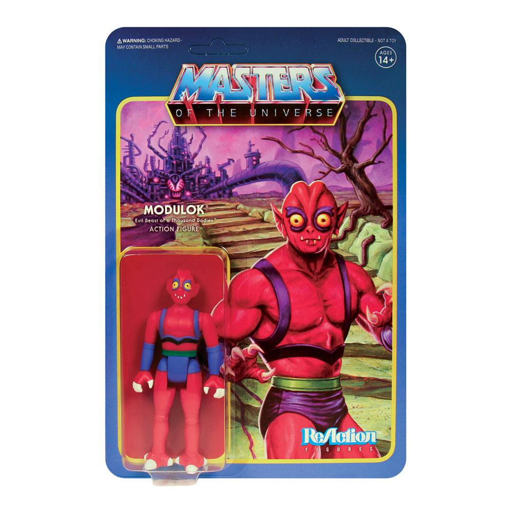 Masters of the Universe ReAction: Wave 5 - MODULOK Ver.1
