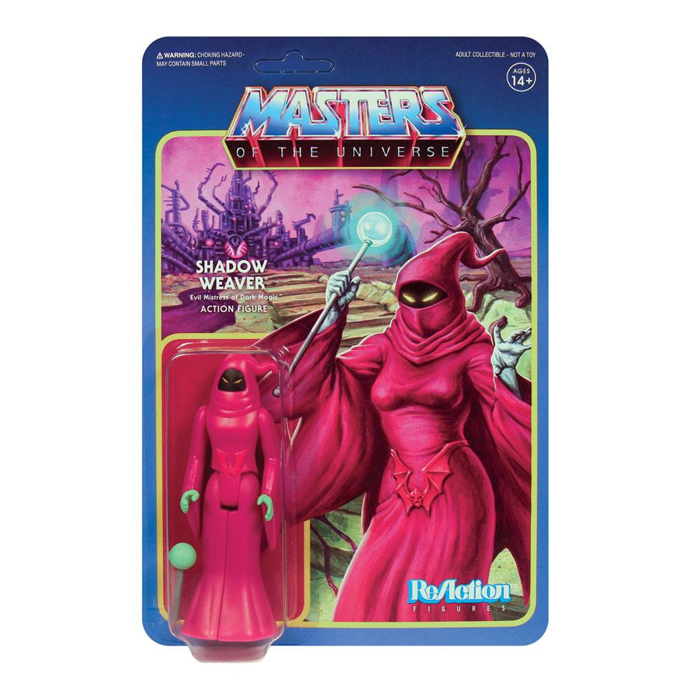 Masters of the Universe ReAction: Wave 5 - SHADOW WEAVER