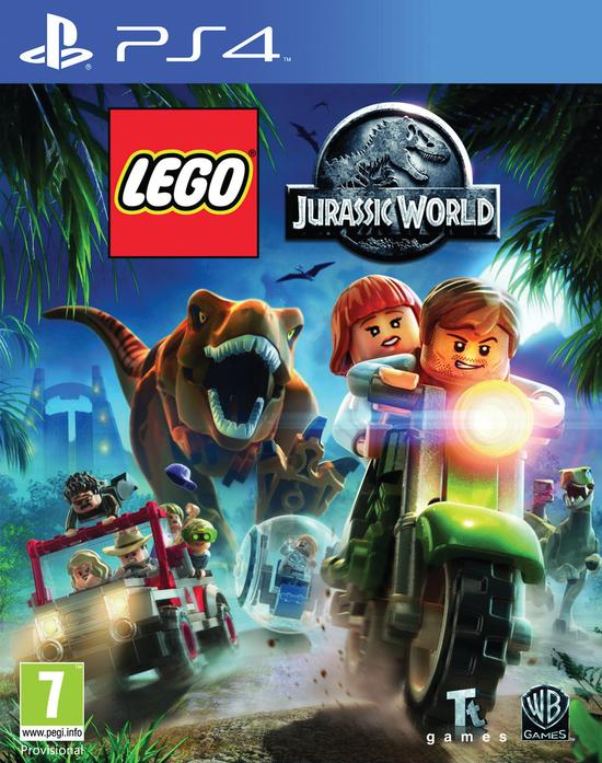 Ps4: Lego Jurassic World
