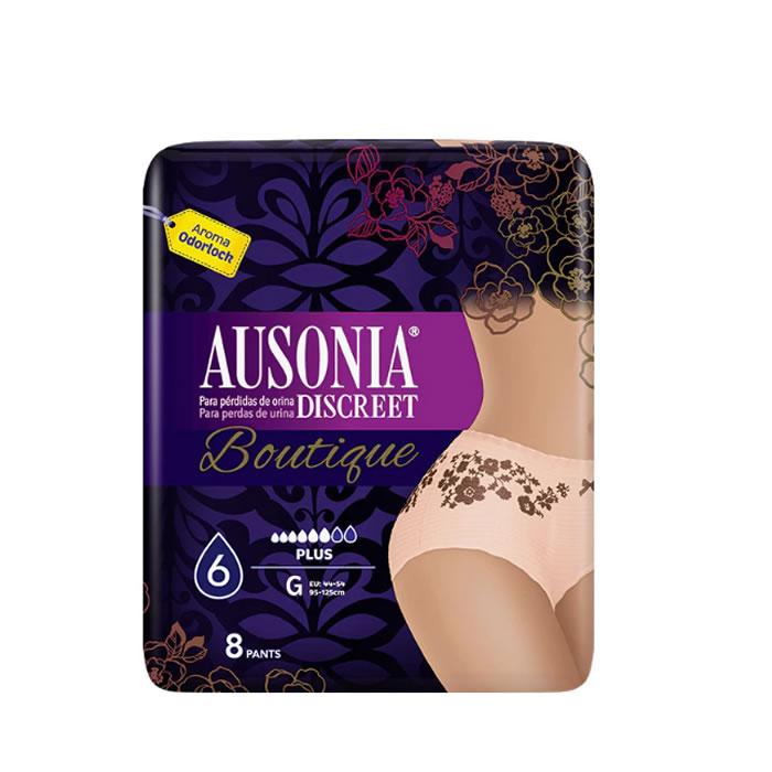 Ausonia Discreet Boutique Braguitas-Pants 8 Units
