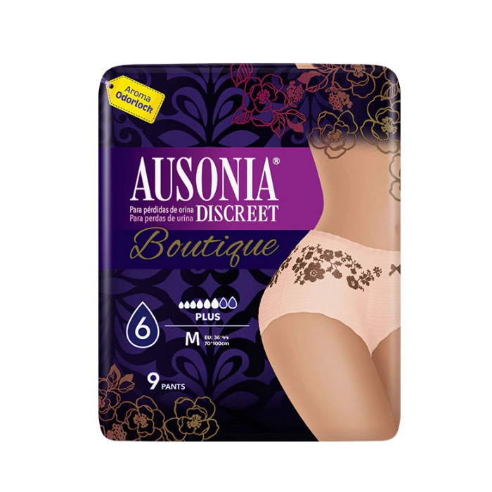 Ausonia Discreet Boutique Braguitas-Pants 9 Units