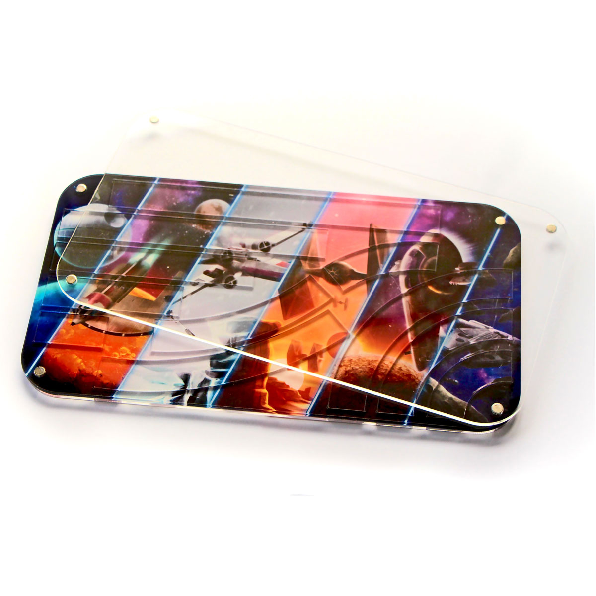 Star Wars X-Wing Compatible Template Tray V 2.0