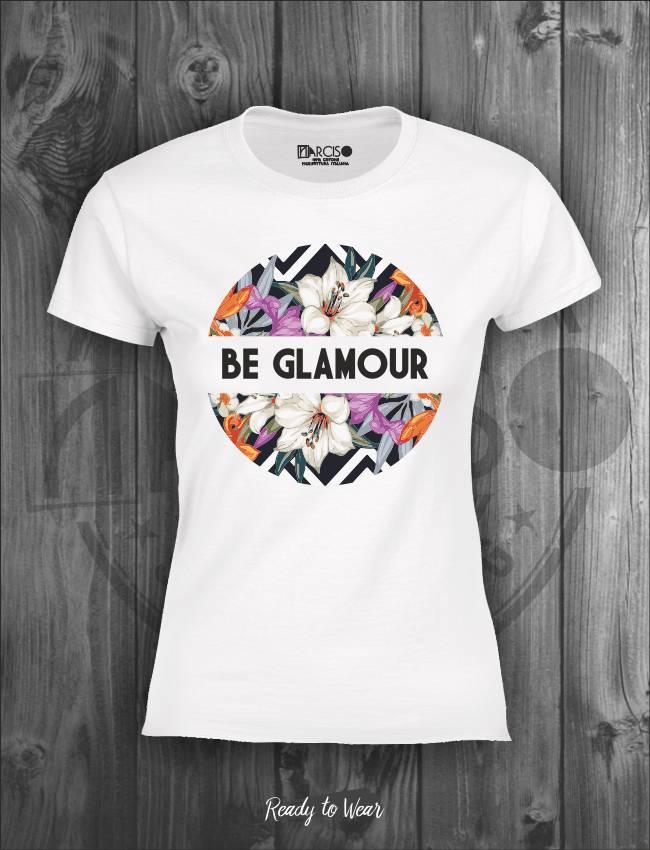 T-shirt in puro cotone manica corta slim soggetto