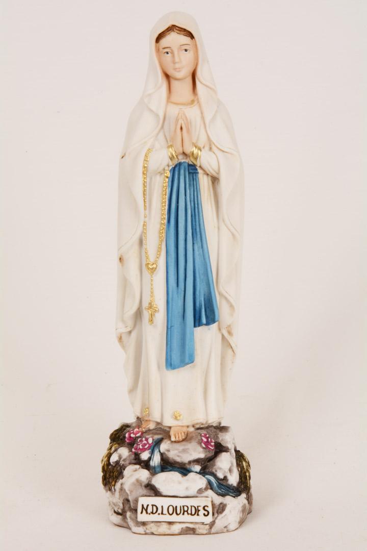Statua Madonna di Lourdes h 20 PASQ51-A