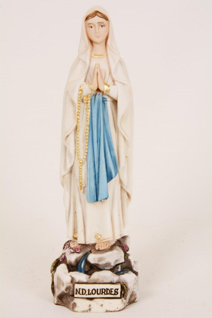 Statua Madonna di Lourdes h 15 PASQ50-A