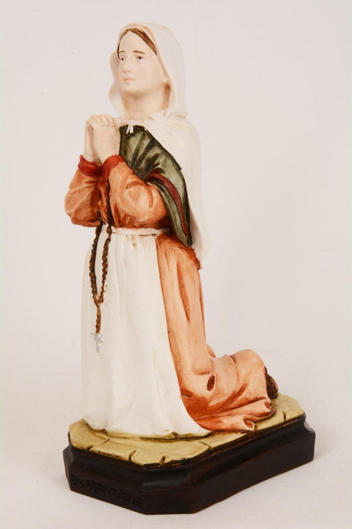 Statua Santa Bernadette in Resina h. 20 PASQ297