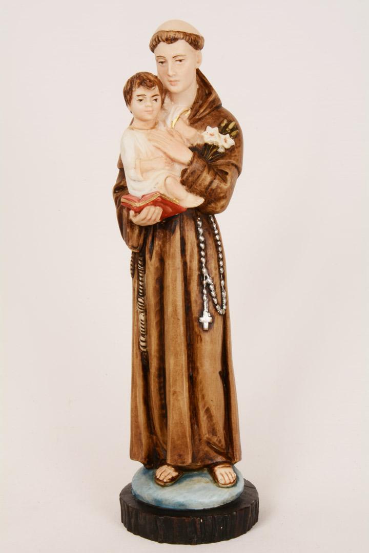 Statua S.Antonio h 25 PASQ408