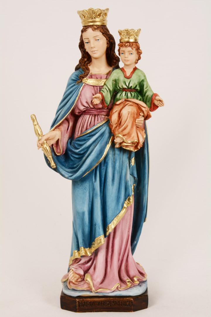 Statua Madonna Ausiliatrice h 30 PASQ623