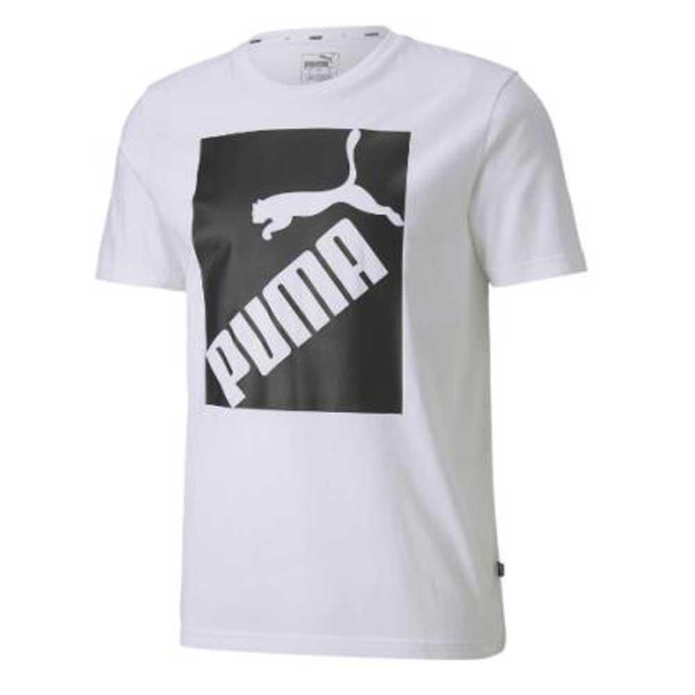 Puma T Shirt Logo Stampa White da Uomo
