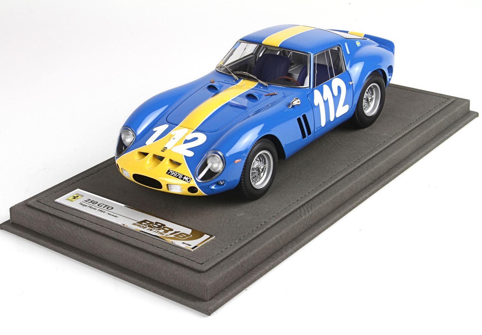 Ferrari 250 GTO Targa Florio 1964 Norinder 1/18