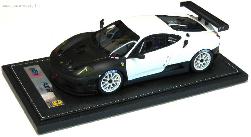 Ferrari 430 Gt2 2008 White Avus 100 Black 130 Pcs 1/18
